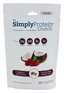 SimplyProtein - Protein Crunch Raspberry & Coconut - 1.16 oz.