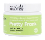 Primal Pit Paste - Natural Deodorant Coconut Lime - 2 oz.