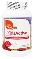 Zahler - KidsActive Fruit Punch Flavor - 180 Chewable Tablets