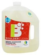 Boulder Cleaners - Natural Dishwasher Detergent Gel Citrus Medley - 100 oz.