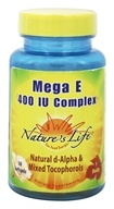Nature's Life - Mega E Complex 400 IU - 50 Softgels