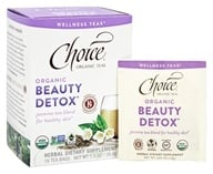 Choice Organic Teas - Organic Beauty Detox Jasmine Tea - 16 Tea Bags