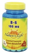 Nature's Life - B-6 100 mg. - 50 Tablets