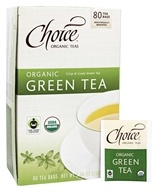 Choice Organic Teas - Organic Green Tea - 80 Tea Bags