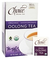 Choice Organic Teas - Organic Oolong Tea - 80 Tea Bags