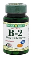 Nature's Bounty - Vitamin B2 100 mg. - 100 Tablets