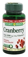 Nature's Bounty - Cranberry Plus Vitamin C 4200 mg. - 120 Softgels