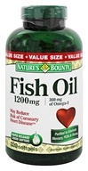 Nature's Bounty - Fish Oil 1200 mg. - 320 Softgels