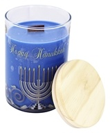 Terra Essential Scents - Seasonal Soy Candle Happy Hanukkah - 12 oz.