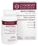 Creative BioScience - Beauty Formula - 60 Vegetarian Capsules
