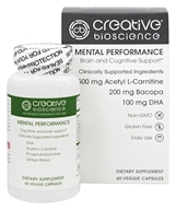 Creative BioScience - Mental Performance - 60 Vegetarian Capsules