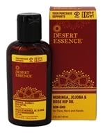 Desert Essence - Moringa, Jojoba & Rose Hip Oil - 2 oz. LUCKY PRICE