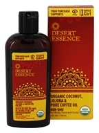 Desert Essence - Organic Coconut, Jojoba & Pure Coffee Oil - 4 oz. LUCKY PRICE