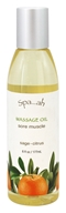 Spa...ah - Massage Oil Sore Muscle Sage - Citrus - 6 oz.