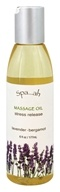 Spa...ah - Massage Oil Stress Release Lavender - Bergamot - 6 oz.