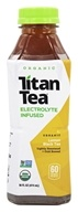 Titan Tea - Electrolyte Infused Organic Lemon Black Tea - 16 oz.