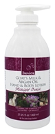 Janice Skincare - Goat's Milk & Argan Oil Hand & Body Lotion Midnight Orchid - 27.05 oz.