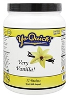 Mt. Capra Products - Yo-Quick! Instant Goat Milk Yogurt Mix Very Vanilla! - 12 Packet(s)