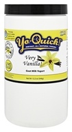 Mt. Capra Products - Yo-Quick! Instant Goat Milk Yogurt Mix Very Vanilla! - 12.2 oz.