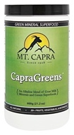 Mt. Capra Products - CapraGreens Green Mineral Superfood - 600 Grams