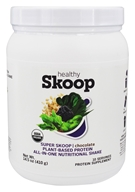 Healthy Skoop - Super Skoop Plant-Based Protein All-In-One Nutritional Shake Chocolate - 14.5 oz.