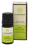 RareEssence - Aromatherapy 100% Pure Essential Oils Lime Distilled - 5 ml.