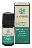 RareEssence - Aromatherapy 100% Pure Essential Oil Blend Breathe Ease - 5 ml.