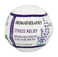 Aromatherapaes - Effervescents For The Bath Stress Relief with Lavender - 2.8 oz.