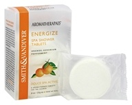 Aromatherapaes - Spa Shower Tablets Energize Orange, Geranium & Peppermint - 4.8 oz.