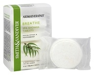 Aromatherapaes - Spa Shower Tablets Breathe Eucalyptus & Peppermint - 4.8 oz.