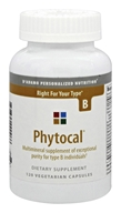 D'Adamo Personalized Nutrition - Phytocal B - 120 Vegetarian Capsules