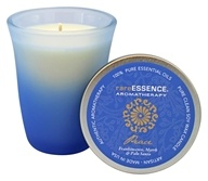 RareEssence - Aromatherapy Spa Candle Peace Blue - 7 oz.