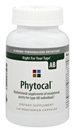 D'Adamo Personalized Nutrition - Phytocal AB - 120 Vegetarian Capsules