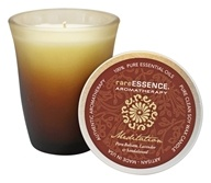 RareEssence - Aromatherapy Spa Candle Meditation Brown - 7 oz.