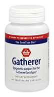 D'Adamo Personalized Nutrition - GenoType Diet Gatherer - 60 Vegetarian Capsules