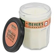 Mrs. Meyer's - Clean Day Scented Soy Candle Geranium - 4.9 oz.