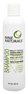 Nine Naturals - Nourishing Shampoo Citrus + Mint - 8 oz.