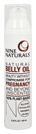 Nine Naturals - Natural Belly Oil Unscented - 3.34 oz.
