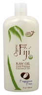 Organic Fiji - Organic Cold Pressed Coconut Oil Fragrance Free - 12 oz.