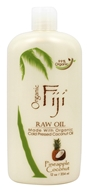 Organic Fiji - Organic Cold Pressed Raw Coconut Oil Pineapple Coconut - 12 oz.