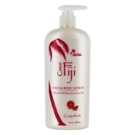 Organic Fiji - Organic Coconut Oil Nourishing Lotion Pink Grapefruit - 12 oz.