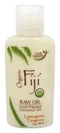 Organic Fiji - Organic Cold Pressed Coconut Oil Lemongrass Tangerine - 3 oz.