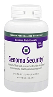 D'Adamo Personalized Nutrition - Genoma Nutritionals Security - 60 Vegetarian Capsules