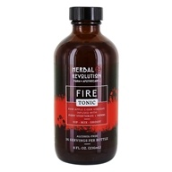 Herbal Revolution - Raw Cider Vinegar Fire Tonic No. 9 Spicy Vegetables and Herbs - 8 oz.