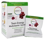 Rainbow Light - Teen Energy Multivitamin Gummy Grape - 30 Packet(s)