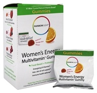 Rainbow Light - Women's Energy Multivitamin Gummy Orange - 30 Packet(s)