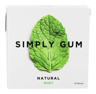Simply Gum - All Natural Gum Mint - 15 Piece(s)