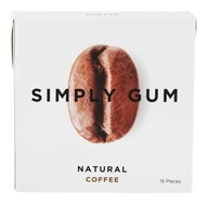 Simply Gum - All Natural Gum Coffee - 15 Piece(s)