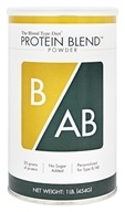 D'Adamo Personalized Nutrition - The Blood Type Diet Protein Blend Powder ...
