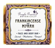 Purple Prairie Botanicals - Face and Body Bar Soap Frankincense and Myrrh - 4 oz.